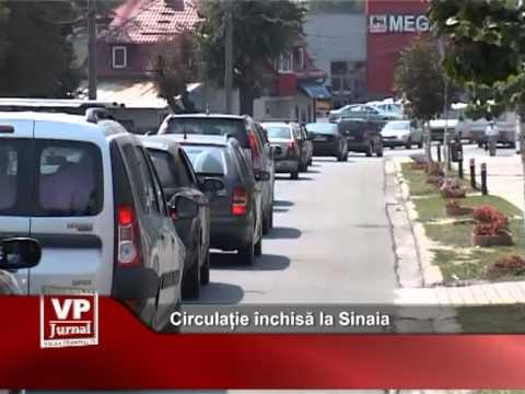 Circulație închisă la Sinaia