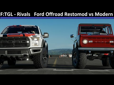 Forza: Top Gear Laps - Rivals: Ford Offroad Restomod vs Modern - Forza Motorsport 7