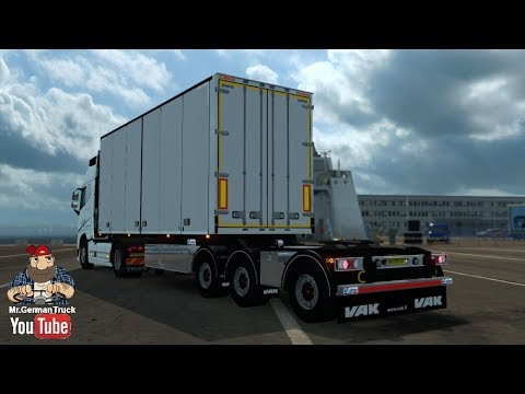 VAK V-Slider + Limetec Trailer B-Double v1.0