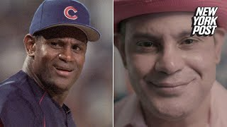 Sammy Sosa is not-so-pretty-in-pink. In a recent interview with ESPN, the former Chicago Cubs slugger looked even paler than usual, causing unkind fans to compare him to a piece of gum, Pepto Bismol, and the cartoon character Snagglepuss.