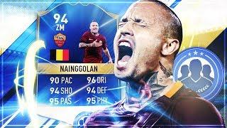 FIFA 17: FIRST OWNER 94 TOTS NAINGGOLAN SQUAD BUILDER BATTLE [DEUTSCH]