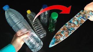 Video Desde Botella de Plástico a Cuchillo Super Afilado / From plastic bottle to razor sharp knife MP3, 3GP, MP4, WEBM, AVI, FLV Juni 2019