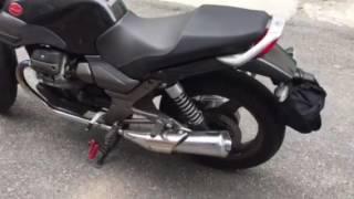 9. Moto Guzzi Breva 750 brutal italian sound