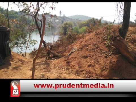 Threat to Amthane Dam illegal stone quarrying in reservoir area dam water released in quarry Police raid site 2 persons arrested