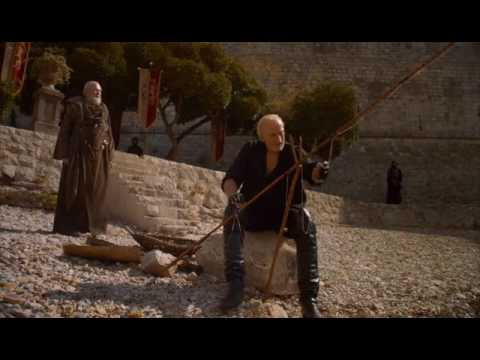 Tywin And Pycelle Fishing - Deleted Scene from Game Of Thrones