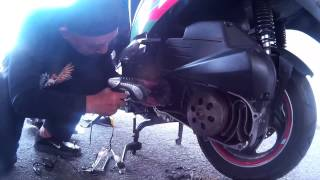 9. How To Replace SYM Scooter CVT Belting