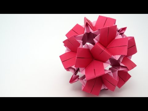 Kusudama Tutorial - 027