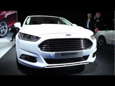 New Ford Mondeo sneak preview – Paris Motor Show 2012