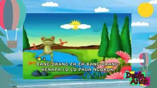 Lagu Dan Kartun Anak HD - Sang Kodok