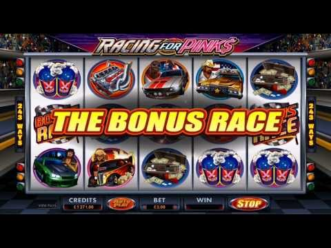 Racing for Pinks video slot | Royal Vegas Casino