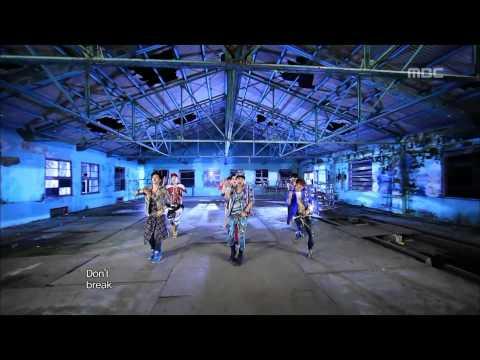 BTOB - WOW, 비투비 - 와우, Music Core 20120915 (видео)