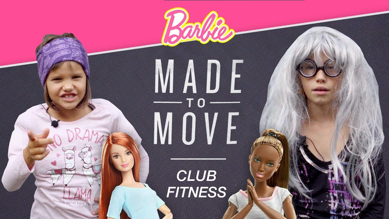 Z wizytą w klubie FITNESS, Made to Move Barbie