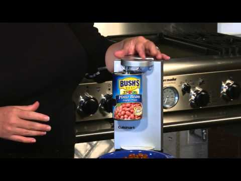Cuisinart Can Opener (CCO-40BC) Demo Video