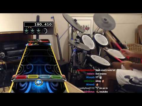 1st Ever Through The Fire And Flames BRUTAL Pro Drums 100% FC