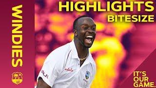 Windies vs England 1st Test Day 2 2019 | Bitesize Highlights