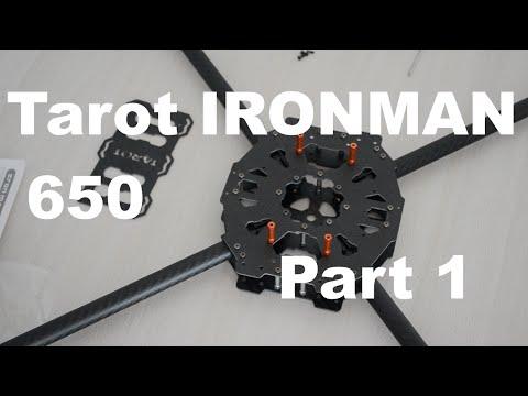 Рама квадрокоптера Tarot Iron Man 650