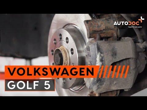 Come cambiare le dischi del freno anteriori VW GOLF 5 Tutorial   Autodoc