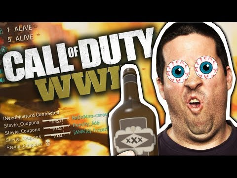 CALL OF DUTY WWII TROLLING! RPG'ING INTERNATIONAL RAGERS!