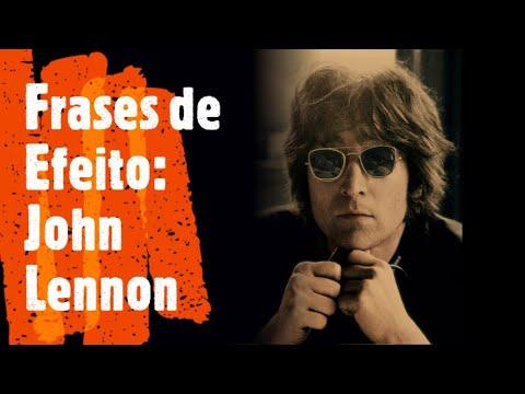 Frases celebres - John Lennon  Frases de Efeito