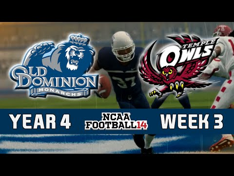 NCAA Football 14 Dynasty - Old Dominion: Episode 47