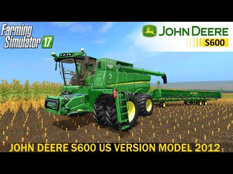 John Deere S600 US Version Model 2012 v2.0.0