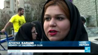 گزارشی به زبان انگلیسی در باره دختران پارکور ایران
