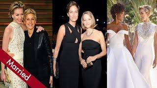 Here is list of 10 Celebrity Lesbian Couples in Hollywood. They got married and still stayed together.Lauren Morelli and Samira WileyJodie Foster and Alexandra HedisonSara Gilbert and Linda PerryMelissa Etheridge and Linda WallemChely Wright and Lauren BlitzerWanda Sykes and Alex SykesCynthia Nixon and Christina MarinoniEllen DeGeneres and Portia de RossiBeth Ditto and Kristin OgataLily Tomlin and Jane Wagner***************************************Music was provided by NCSDefqwop - Heart Afire (feat. Strix) [NCS Release]https://youtu.be/gJeh_dLjPN4Download this track for FREE: https://www.hive.co/l/y4uu***************************************We do not own all the materials as well as footages used in this video. For copyright matters please contact us at: lgbttoplist@gmail.com***************************************Follow LGBT Top List:☞Facebook: https://goo.gl/QPQkQP☞ Google Plus: https://goo.gl/jbKpwF☞ Tumblr: http://goo.gl/nV5jw8