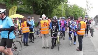 Elfstedenfietsers treffen prima fietsweer