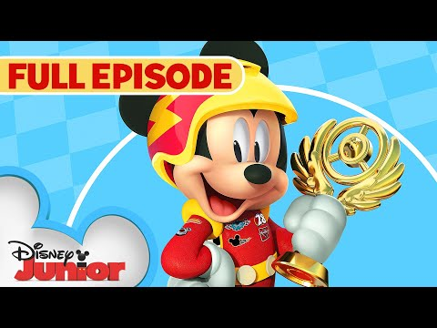 Goofy Gas! 🏎️  / Little Big Ape 🐵 | Full Episode | Mickey and the Roadster Racers | @Disney Junior