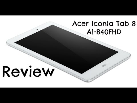 Acer Iconia Tab 8 A1-840FHD Review – everything but cheap!