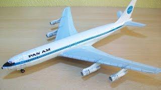 Video Panam Boeing 707 Papercraft MP3, 3GP, MP4, WEBM, AVI, FLV Juni 2018