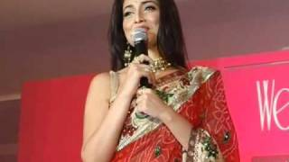 Shriya Saran launches 'Wedding Vows' Magazine