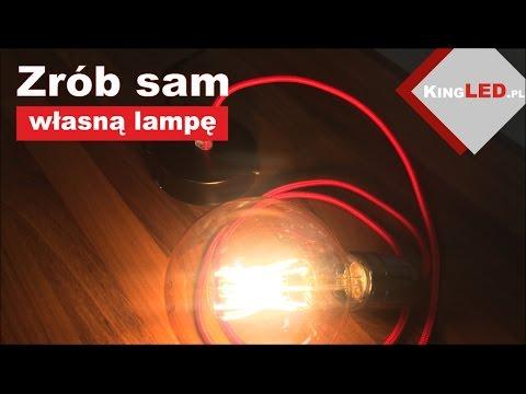 Lampa loftowa, jak zrobić samemu