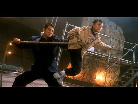 Father & Son Fight the Bad Guys - Jet Li VS Yu Rongguang