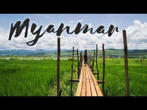 Découvrir la BIRMANIE/MYANMAR en 4 minutes