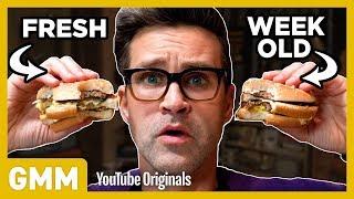 Video Week Old McDonald's Taste Test MP3, 3GP, MP4, WEBM, AVI, FLV April 2018