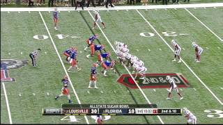 Matt Elam vs Louisville (2012 Bowl)