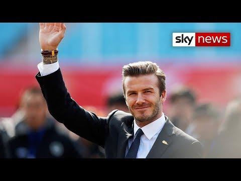 syoneda: David Beckham Retires!