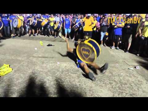 Previa de la 12 en Mar del Plata. Fiesta a lo BOCA - 1ª Parte - La 12 - Boca Juniors
