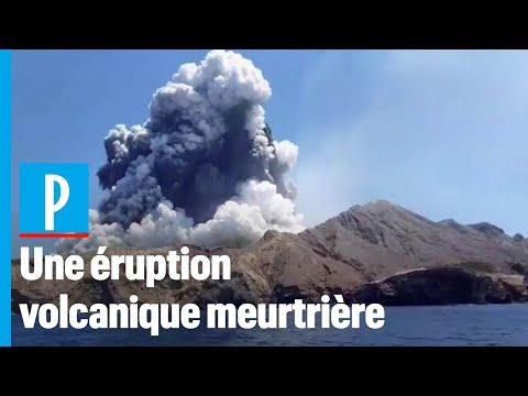 Nouvelle-Zélande : l'éruption du volcan fait cinq morts