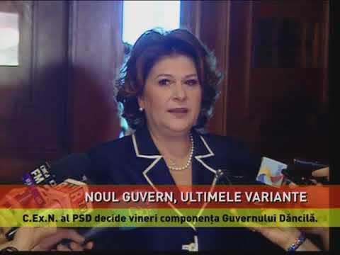 PSD pregătește lista miniștrilor care vor intra în Cabinetul Dăncilă