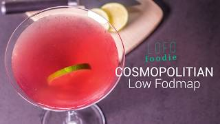 LOW FODMAP COSMOPOLITAN