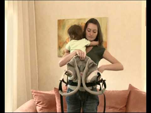 How to Use the Manduca Baby Carrier in Front Carry Position
