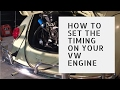 Timing Your VW Engine - Static Timing Method