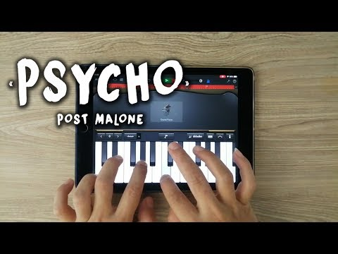 Psycho -  Post Malone (iPad Cover)