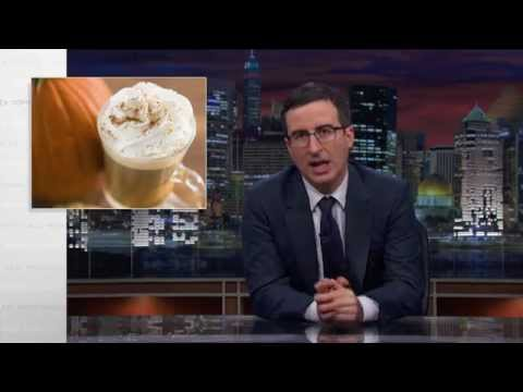 Tonight - Pumpkin spice. Why? John Oliver investigates. Well, he doesn't really investigate. He says things about it, though! Connect with Last Week Tonight online... Subscribe to the Last Week Tonight...