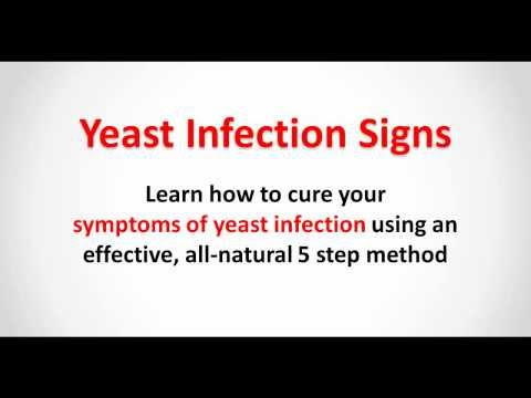 Yeast Infection Signs - Cure the Symptoms of Yeast Infection