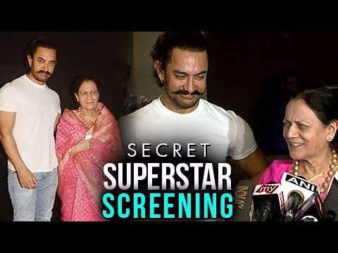 Aamir Khan And His Mother Emotional Moment At Secr