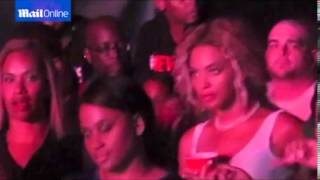 Just Like Any Other Concert Goer! Beyoncé Attends Husband Jay Z's Concert
