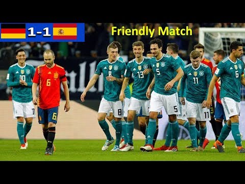 Germany VS Spain 1-1 All Goal n Highlight